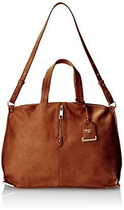 POVERTY FLATS by rian Tote W/Metal Corners Shoulder Bag