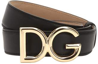 Dolce & Gabbana 30mm Leather Belt