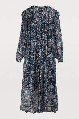 Etoile Isabel Marant Ellie silk dress