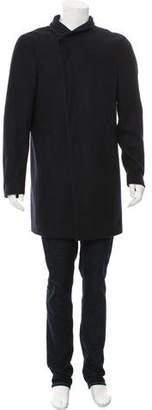 AllSaints Wool Button-Up Coat