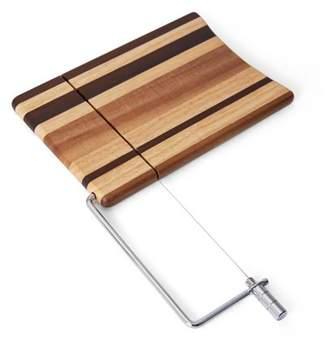 Pfaltzgraff Studio 10 Inch x 9 Inch Multi-wood Acacia Cheese Slicer