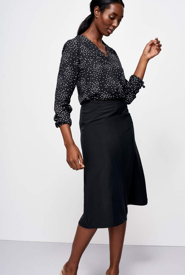 Long Tall Sally 9 To 5 Flippy Suit Skirt