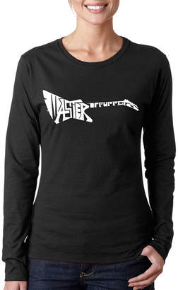 LOS ANGELES POP ART Los Angeles Pop Art Master Of Puppets Long Sleeve Graphic T-Shirt