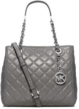 MICHAEL MICHAEL KORS Susannah Small Quilted Leather Tote $328 thestylecure.com