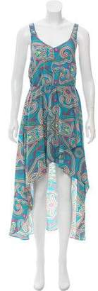 Amanda Uprichard Silk Printed Dress