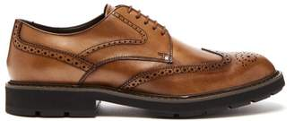 Tod's Leather Brogues - Mens - Tan