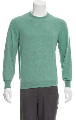 Brunello Cucinelli Crew Neck Cashmere Sweater