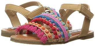 Steve Madden Girls' Tgypsyy Gladiator Sandal