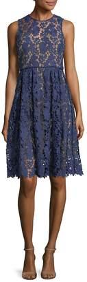 Donna Morgan Women's Lace A-Line Dress