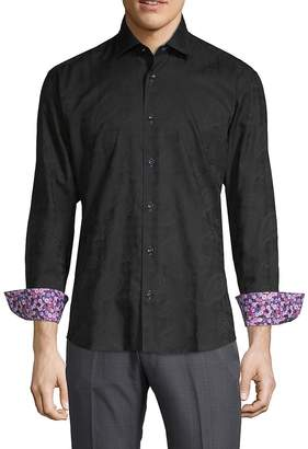 Bertigo Men's Nesta Cotton Button-Down Shirt