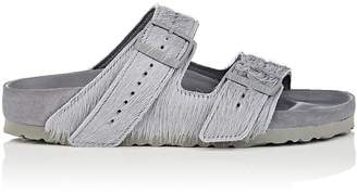 Rick Owens Women's Arizona Fur Double-Buckle Sandals