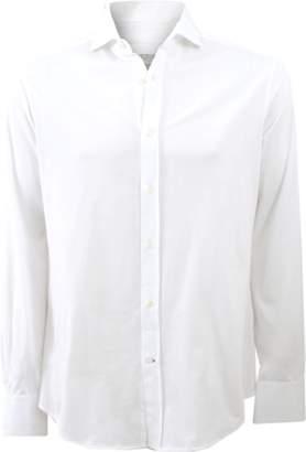 Brunello Cucinelli Jersey Button Down Shirt