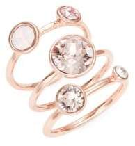 Ted Baker Jackie Jewel Stacked Rings