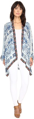 Johnny Was - Power Scarf Kimono Women's Clothing $278 thestylecure.com