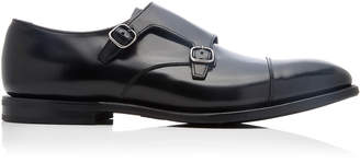 Church's Saltby Leather Monk Strap Shoes