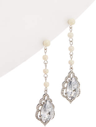 Carolee Icing On The Cake Linear Drop Earrings