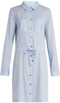 HEIDI KLEIN St Barth drawstring-waist cotton shirtdress $218 thestylecure.com