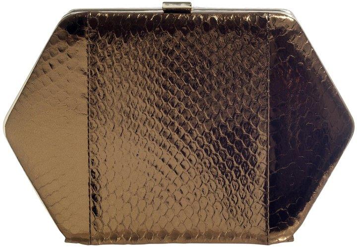 Vichy HEXAGONAL BOX BAG