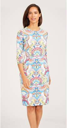J.Mclaughlin Catalyst Dress in Madrid Paisley