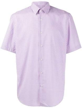 HUGO BOSS gingham print shirt