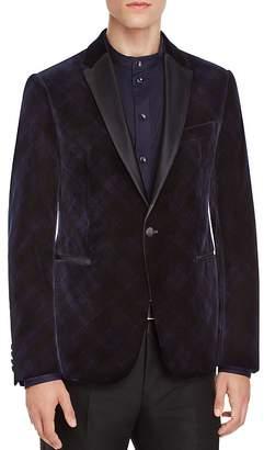 Armani Collezioni Velvet Classic Fit Jacket $1,695 thestylecure.com