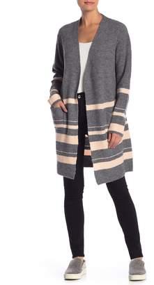 Sweet Romeo Stripe Knit Cardigan