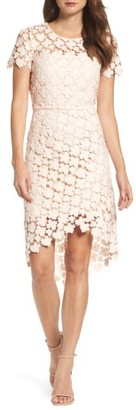 Women's Shoshanna Baylor Lace Sheath Dress $418 thestylecure.com
