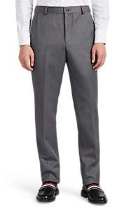 Thom Browne MEN'S WOOL TWILL TROUSERS