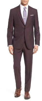 Men's Ted Baker London Trim Fit Solid Wool Suit $795 thestylecure.com