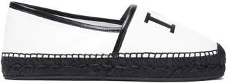 Dolce & Gabbana Printed Leather Espadrilles