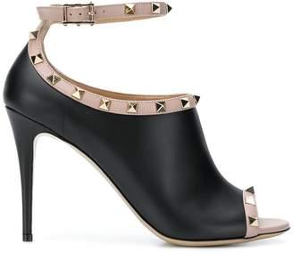 Valentino Rockstud peep toe sandals