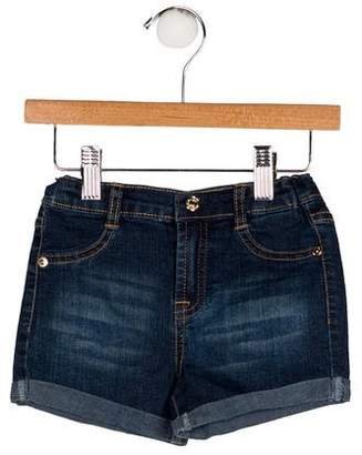 7 For All Mankind Boys' Two Pocket Denim Shorts