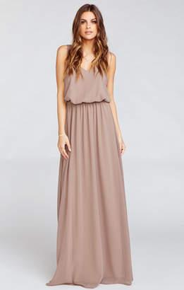 Show Me Your Mumu Kendall Maxi Dress ~ Dune Chiffon