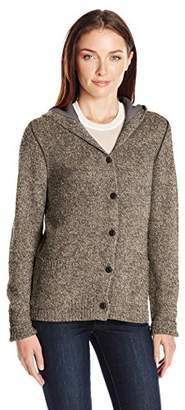 Woolrich Women's Tanglewood Hooded Wool-Blend Sweater