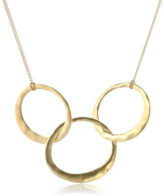 Kenneth Cole New York Tone 3-Circle Necklace