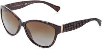 Ralph Lauren womens 0RA5176 502/T558 Polarized Cat-Eye Sunglasses