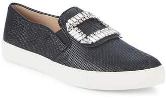 Karl Lagerfeld Paris Women's Ermines Embellished Slip-On Sneakers