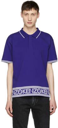 Kenzo Blue Logo Polo