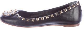 Tory BurchTory Burch Studded Leather Flats