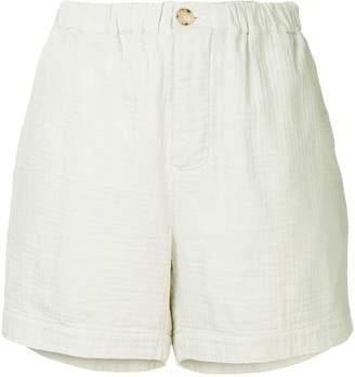 Bassike washed herringbone holiday shorts