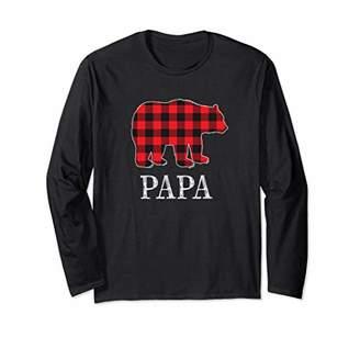 Buffalo David Bitton Check Papa Bear Matching Family Outfits Shirt Photo