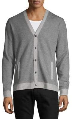 38a401edbe5 Mens Grey Long Sleeved Cardigan - ShopStyle Canada