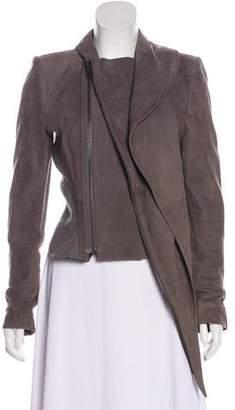Haider Ackermann Leather Zip-Up Jacket