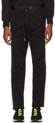 Diesel Black P-Fumio-RR Lounge Pants