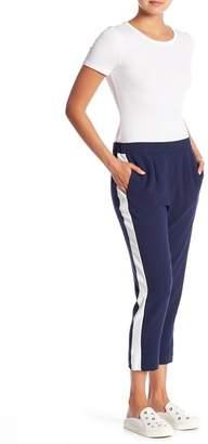 WAYF Side Stripe Ankle Track Pants