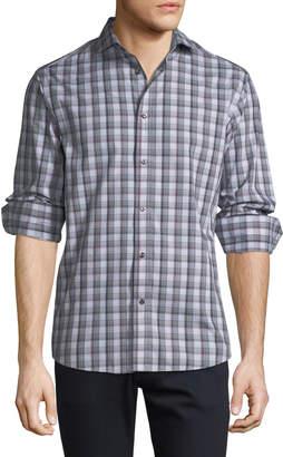 Thomas Dean Men's C3 Tech Button-Down Shirt