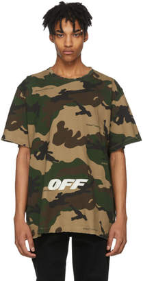 Off-White Multicolor Camouflage T-Shirt