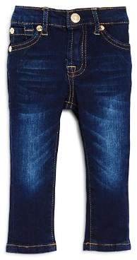 7 For All Mankind Unisex Dark-Wash Skinny Jeans - Baby