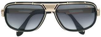 Cazal mixed metal and acetate sunglasses