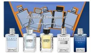Salvatore Ferragamo Five-Piece Men's Miniatures Gift Set